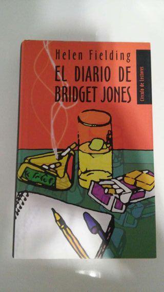 Libro El diario de Bridget Jones, de Helen Fielding.