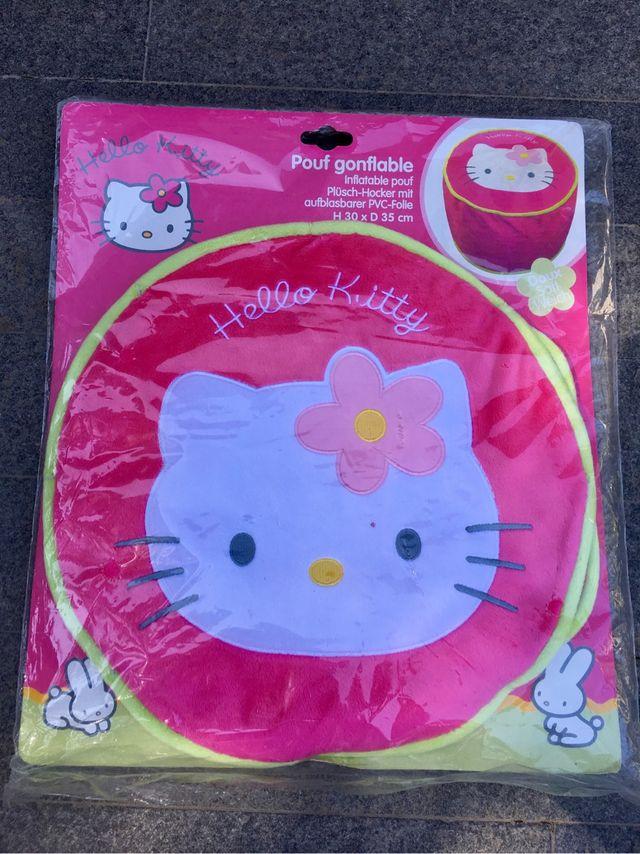 Puf Hello Kitty. Sin estrenar