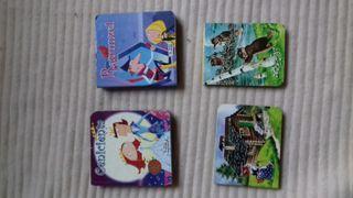 4 cuentos infantiles.