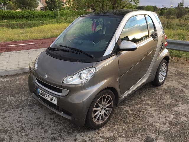 smart fortwo 84 cv passion 62 2012
