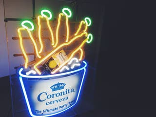 Cartel neon edicion unica