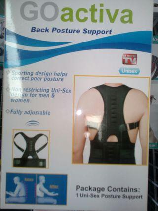faja lumbar corrector postural
