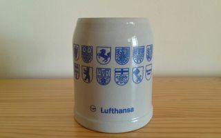 Jarra cerveza Lufthansa