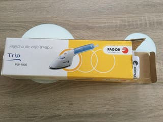 Plancha de viaje a vapor marca Fagor