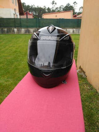Casco integral SHARK talla XL impecable