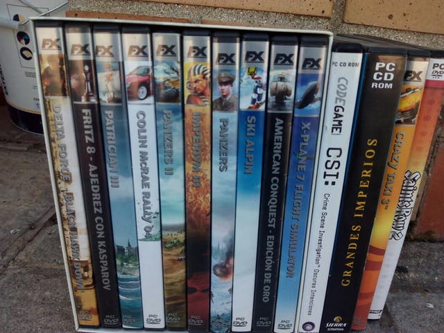lote juegos ordenador