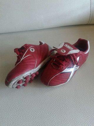 Botas de fútbol niño