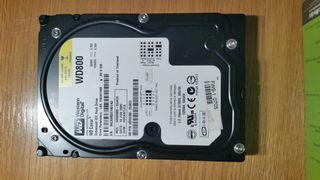 Discos duro 3,5 Seagate IDE 80 GB
