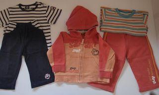 Chándal y camisetas niño 9-12 meses