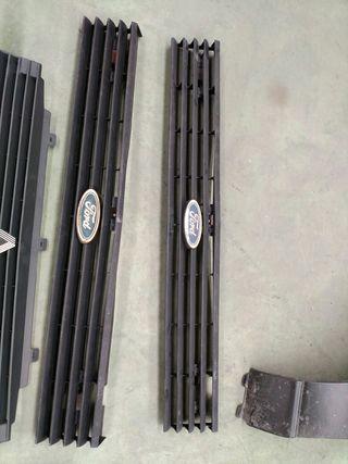Rejillas delanteras Ford Fiesta MK1