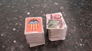 + de 600 cromos de futbol