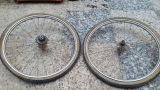 Ruedas 20 bicicleta