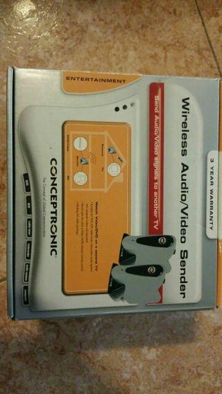 wireless audio video sender