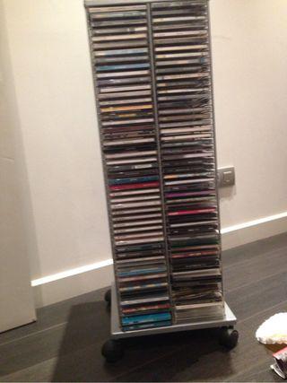 Archivador 200 CD con ruedas