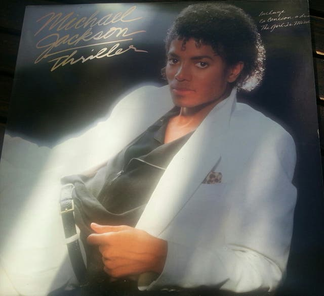 DISCO LP VINILO, MICHAEL JACKSON .THRILLER 1982