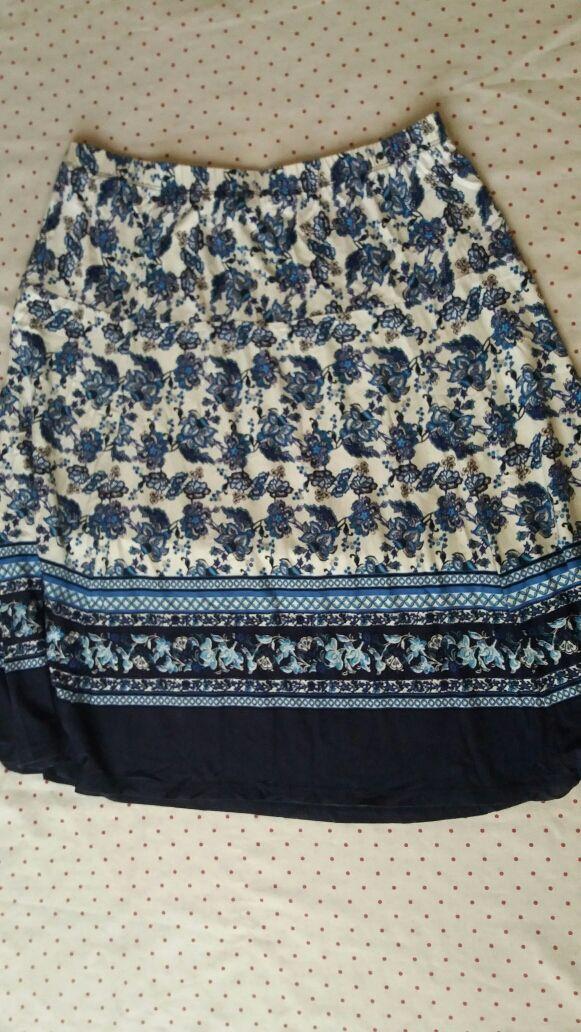 Falda talla grande