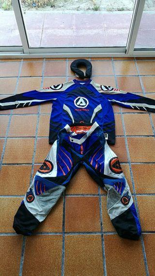 traje completo motocross