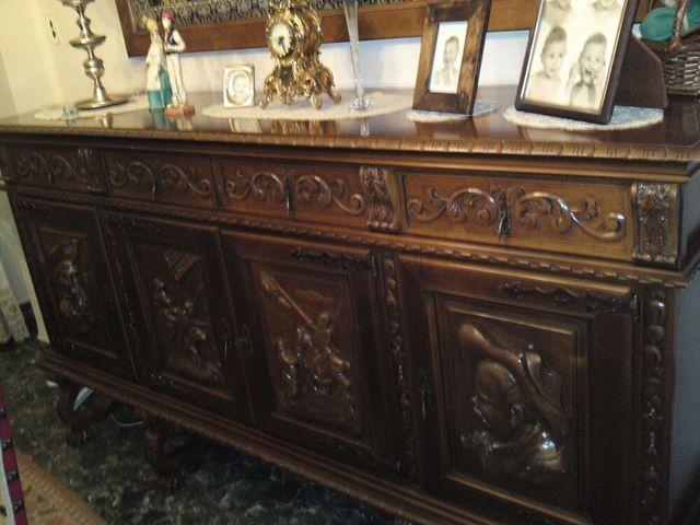 Muebles salon antiguos de segunda mano por en silla en wallapop - Muebles antiguos valencia ...