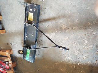 remolque aireador escarificador desmugador
