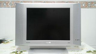 Tv Flat Tv Philips. 0,40 cm x 0,30 cm. Pantalla de 0,31 cm x 0.30 cm.