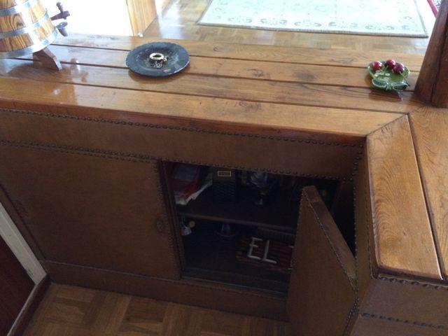 Barra bar r stica madera de segunda mano por en el - Garajes de madera de segunda mano ...