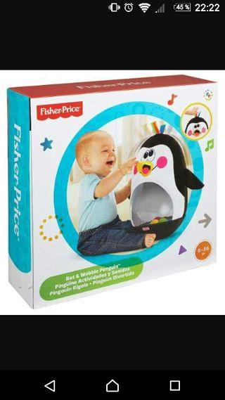 Pingüino actividades y sonidos de Fisher-Price