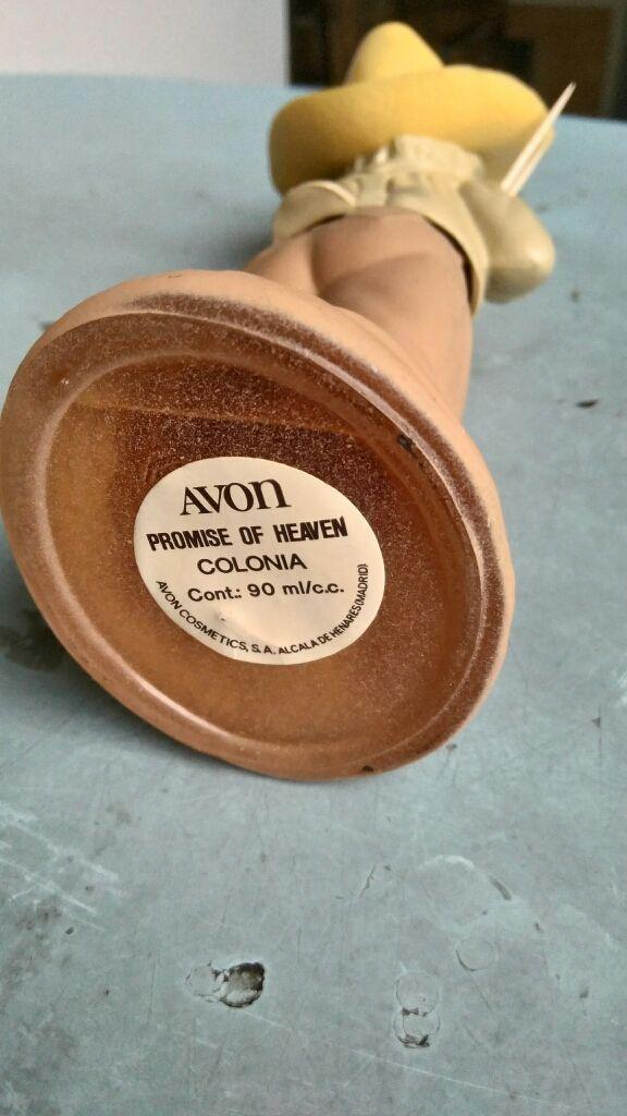 Envase Perfume Promise of Heaven. Avon. De 1973