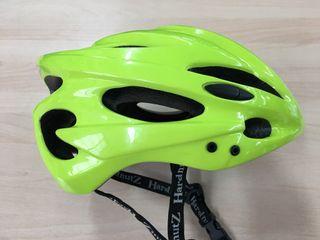 Casco ciclismo fluor