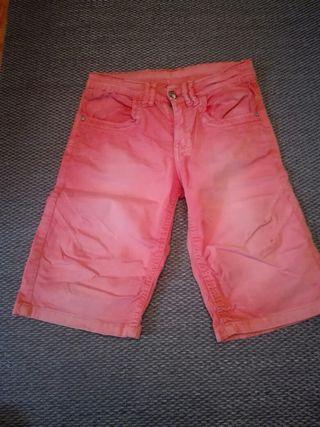Pantalon corto niño talla 8