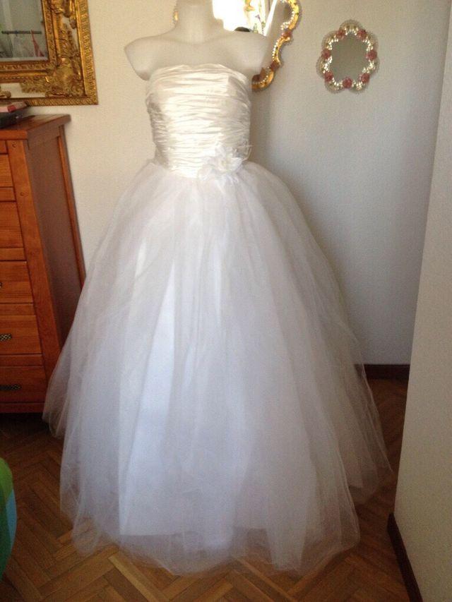 vestido de novia talla 52 de segunda mano por 150 € en centro