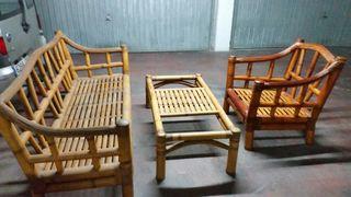Muebles de caña Bambú