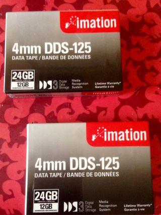 Pack de 2 cintas DAT DDS-125