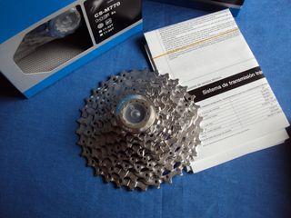 NUEVO Shimano XT 11-32 9V Cassette bicicleta piñon