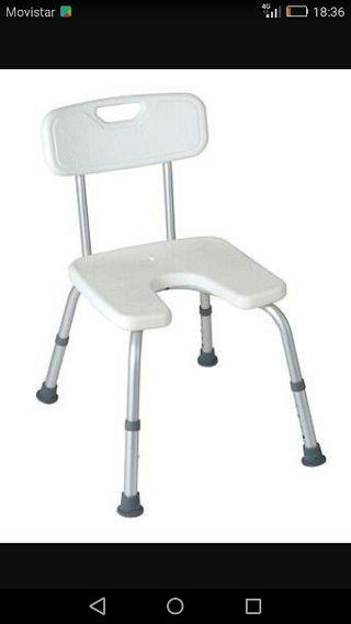 silla dependencia de ducha