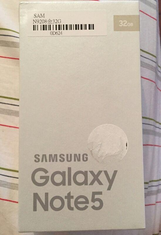 Samsung Galaxy Note 5. 32GB