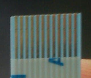 Cable plano flexible FFC 12 pin