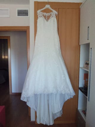 vestido de novia cortos de segunda mano en albacete en wallapop