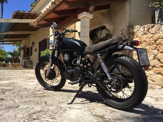Moto sr 250 cafe racer , Yamaha special