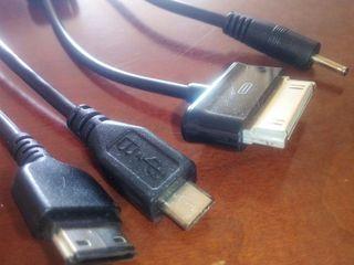 cable de movil y tableta