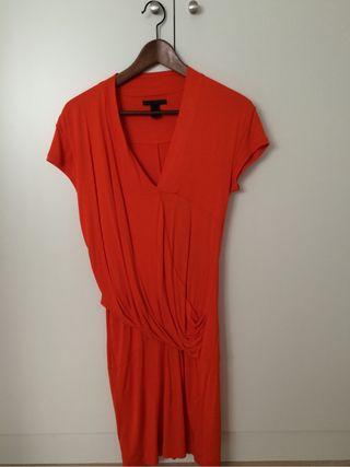 Vestido rojo de Mango talla S