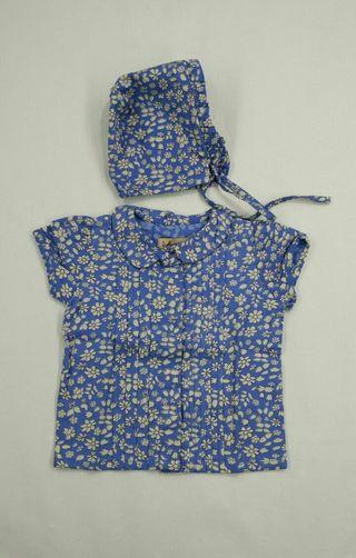 blusa y capota 6 meses