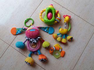 Lote juguetes de bebé