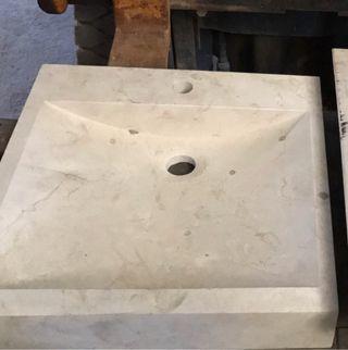 Lavabo marmol macizo