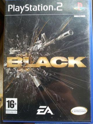Black, juego de PS2