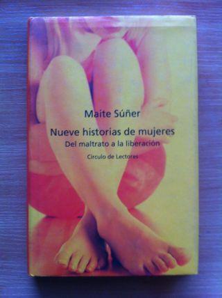 Libro Nueve Historias De Mujeres