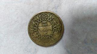 una peseta de 1944