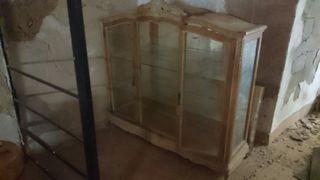 mueble antiguo vitrina antigua