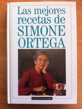 Libro Las Mejores Recetas De SIMONE ORTEGA