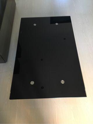 Mesa cristal negra
