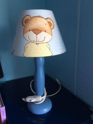 Lámpara infantil oso